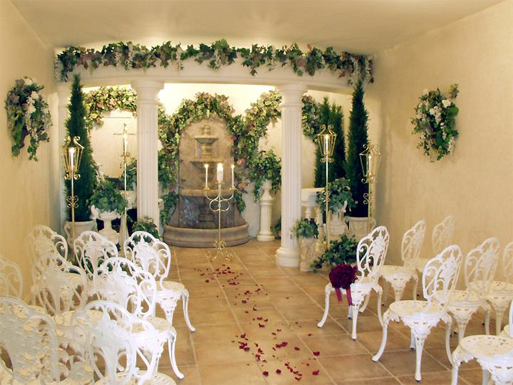 flower package silk vegas wedding